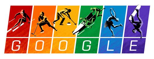 صور شعار الجوجل يحتفل بميثاق الألعاب الأولمبية , Olympic Charter