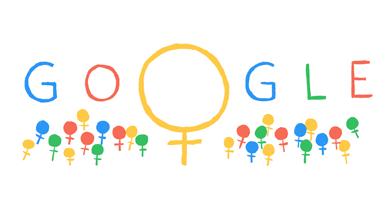 بالصور جوجل يحتفل بذكرى اليوم الدولي للمرأة 8 اذار تصاميم جذابة تتناسب مع هذه الذكرى